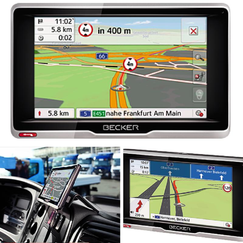 Navegador GPS Camión