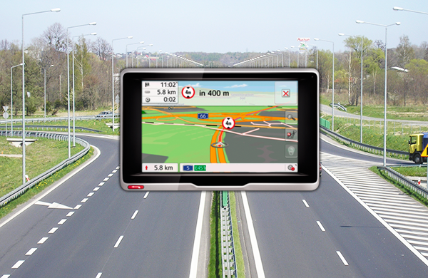 Navegador GPS para autocaravanas