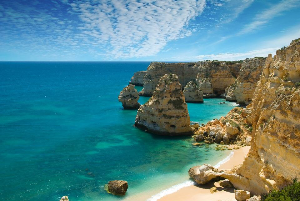 el algarve playa portugal